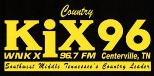 KiX 96 Bumper Logo