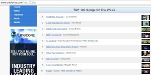 mts only lyrics top 3