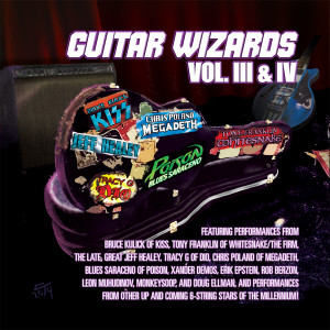 Guitar Wizards Vol. III And IV Is Released Digitally With Tracks From Xander Demos And Members Of KISS, Megadeth, Dio And More!