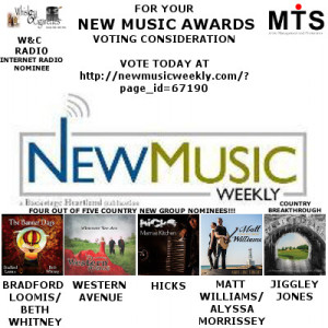 New music awards nominees 2015